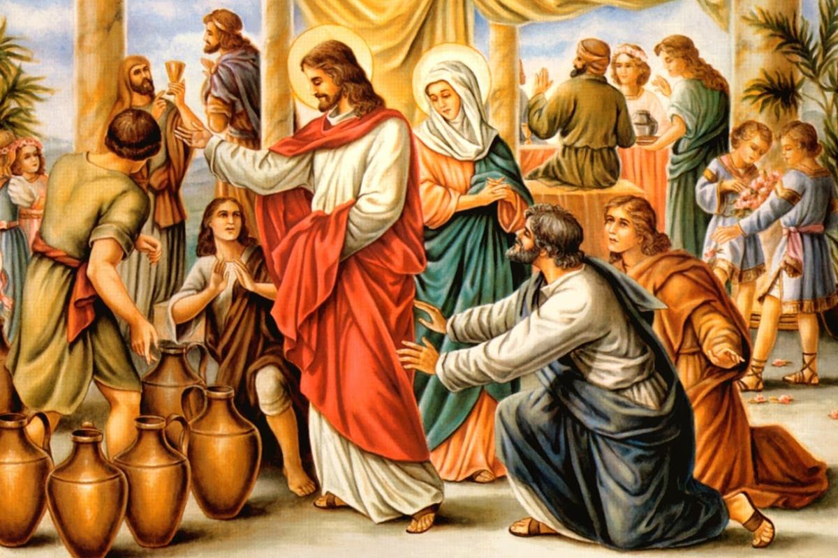 milagro de jesús vino